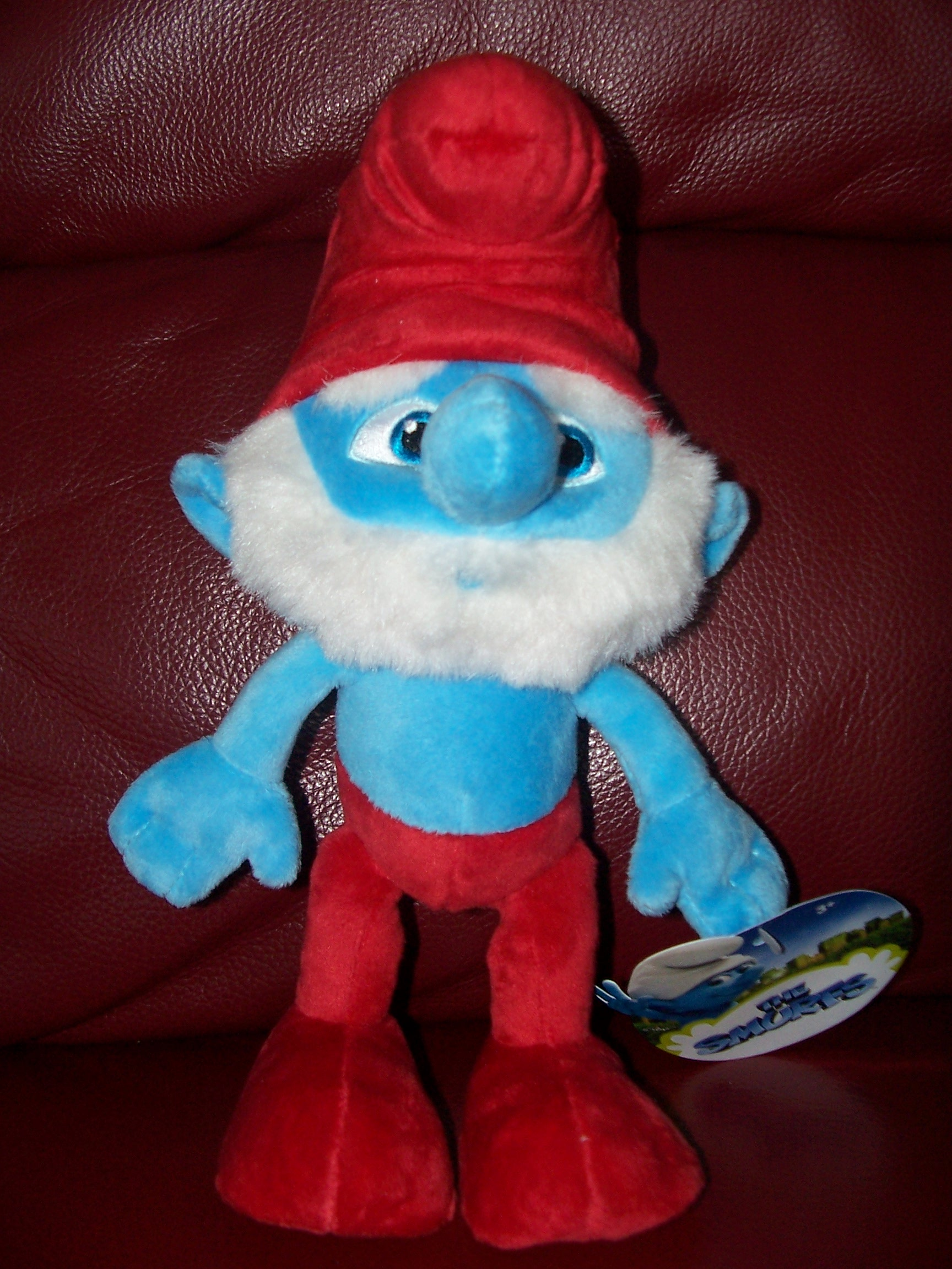 The Smurfs In 3d Toy Range