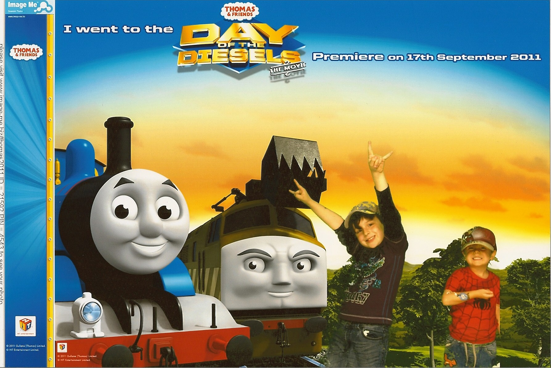 Thomas And Friends Day Of The Diesels The Movie Premiere