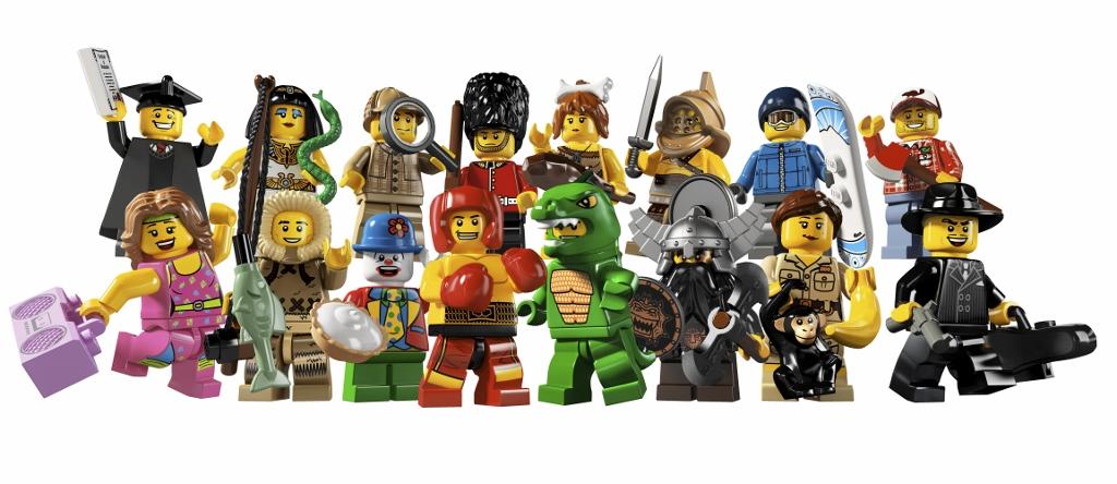 Lego Mini Figures Series 5