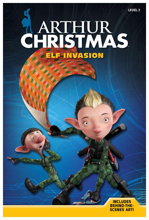 Arthur Christmas Poster.Win An Arthur Christmas Story Book