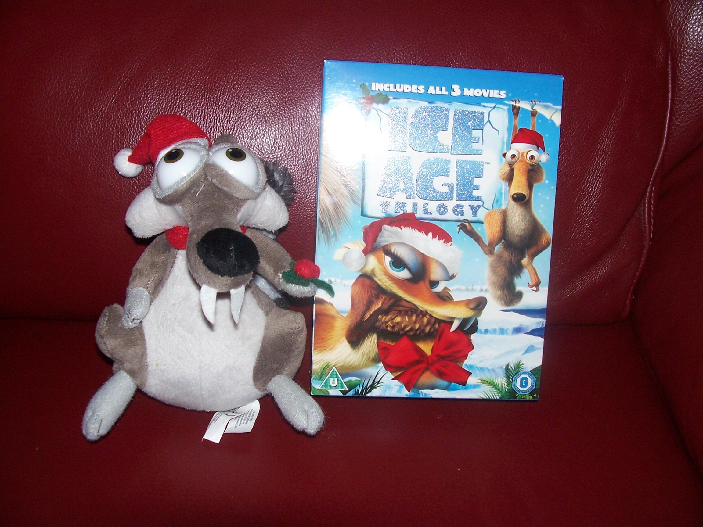 Ice Age A Mammoth Christmas.Ice Age A Mammoth Christmas Asda Exclusive