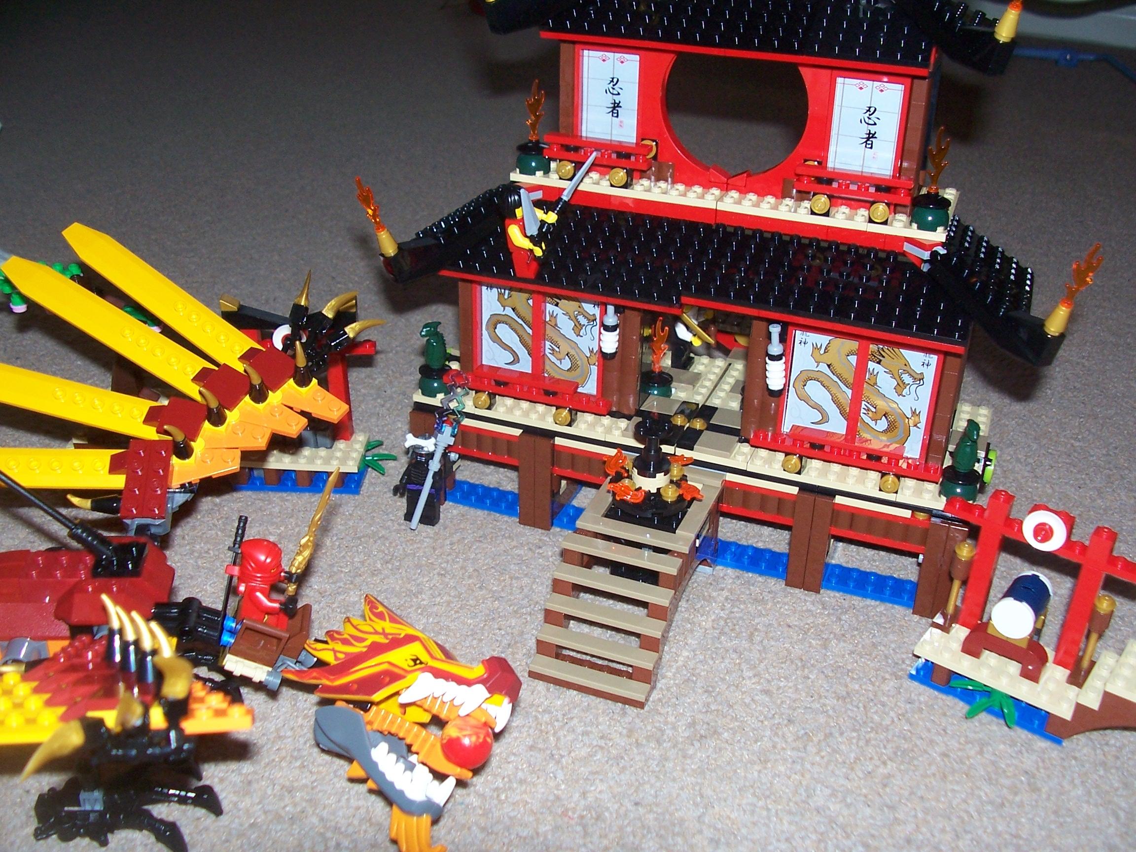 Lego Ninjagofire Temple