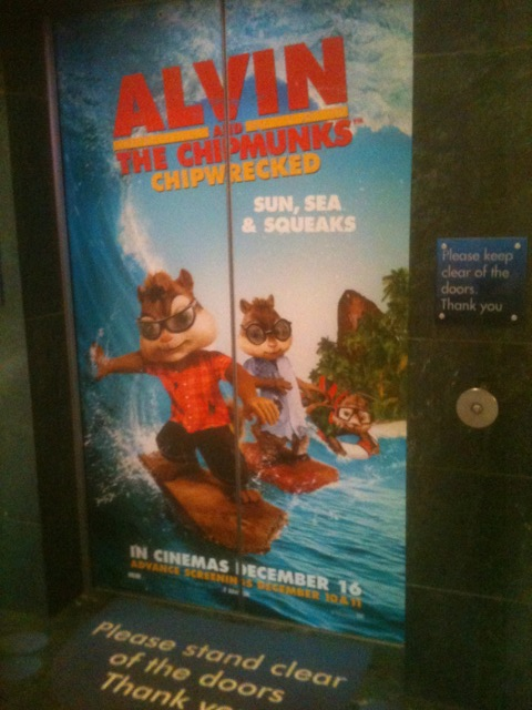 Alvin And The Chipmunks Sing In BlueWater Lifts