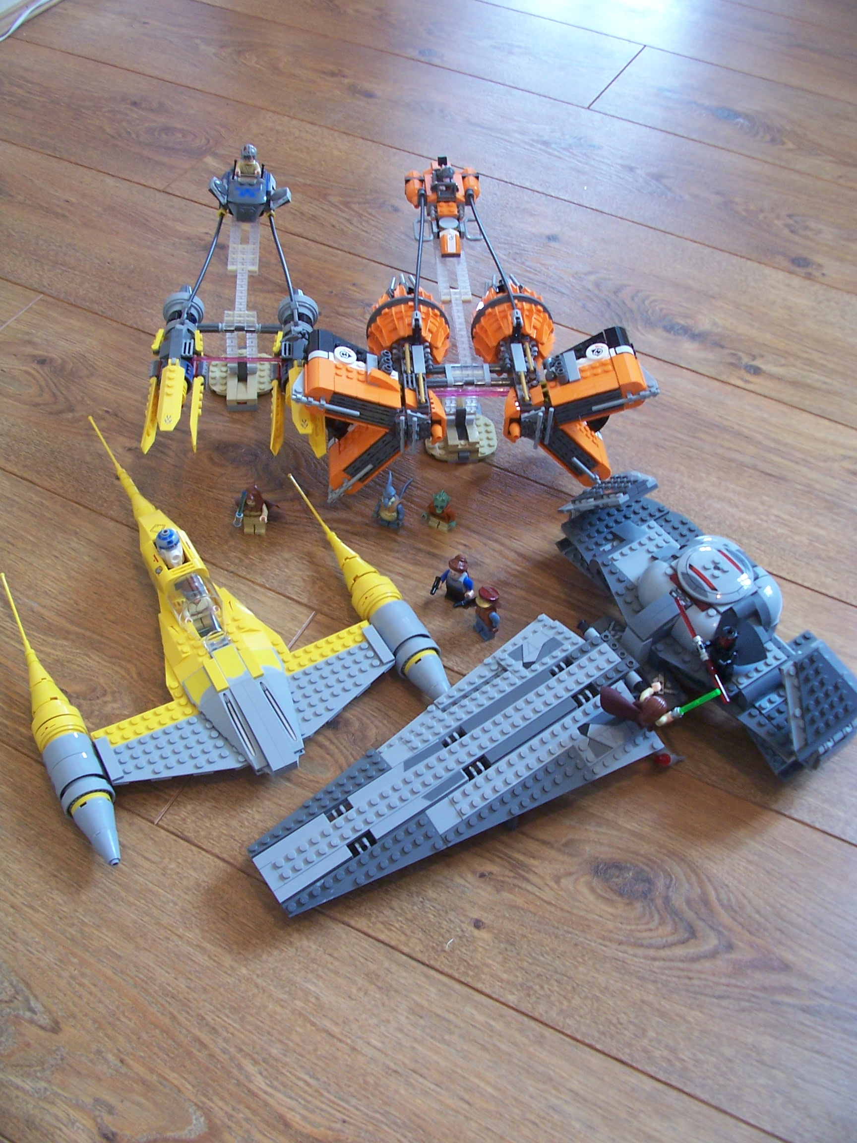 Building Star Wars Episode 1 – The Phantom Menace 3D: LEGO