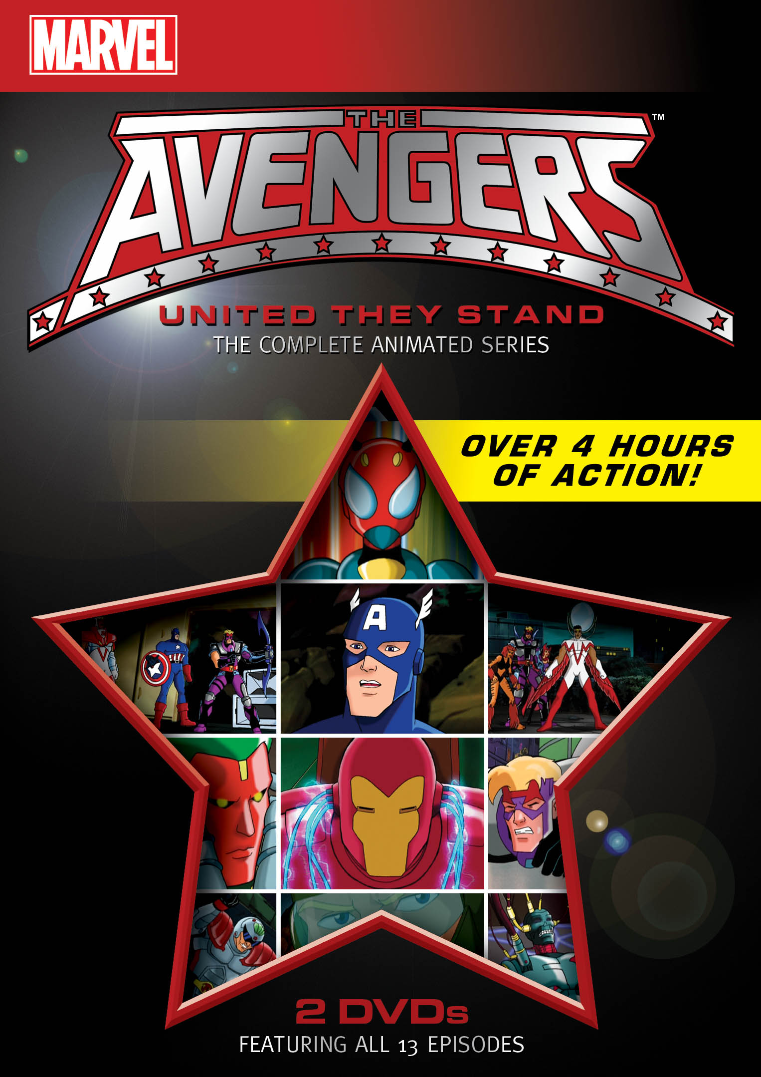 Win Marvel Avengers Dvd S