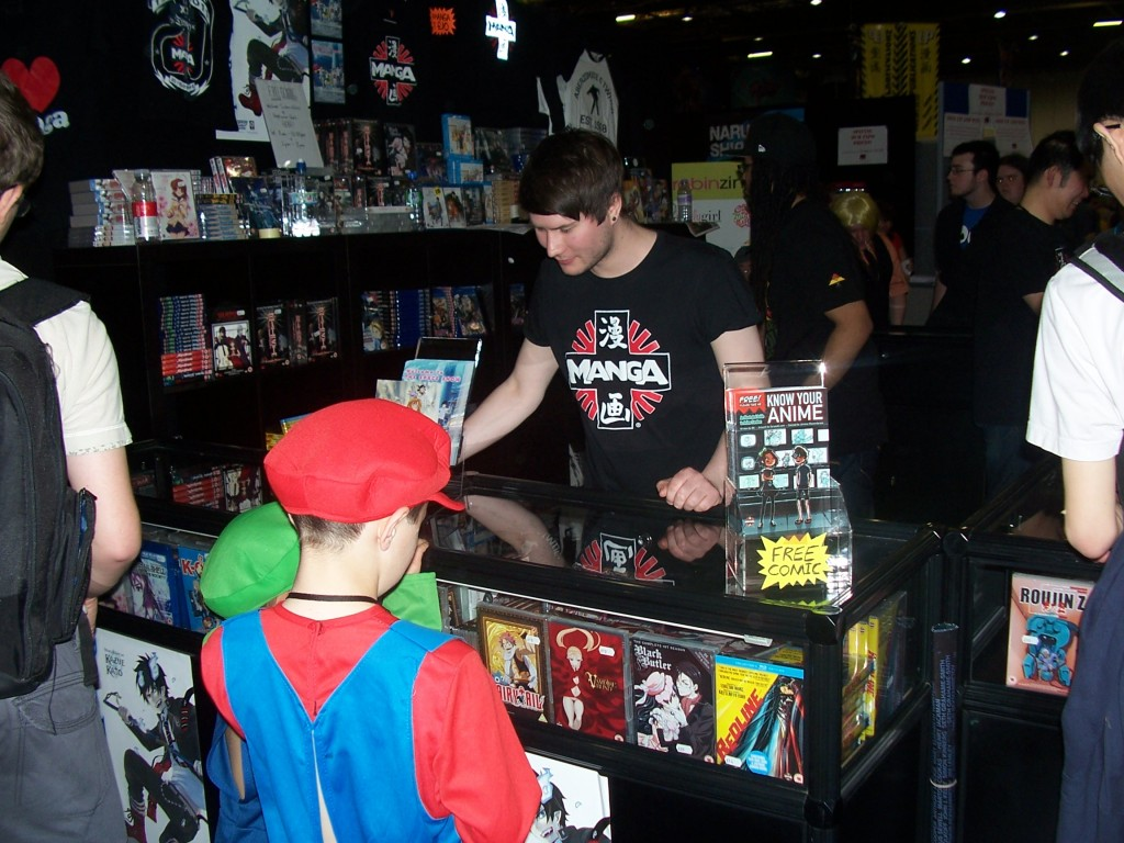 Mcm Expo Stands For : Manga special mcm london expo comic con th may
