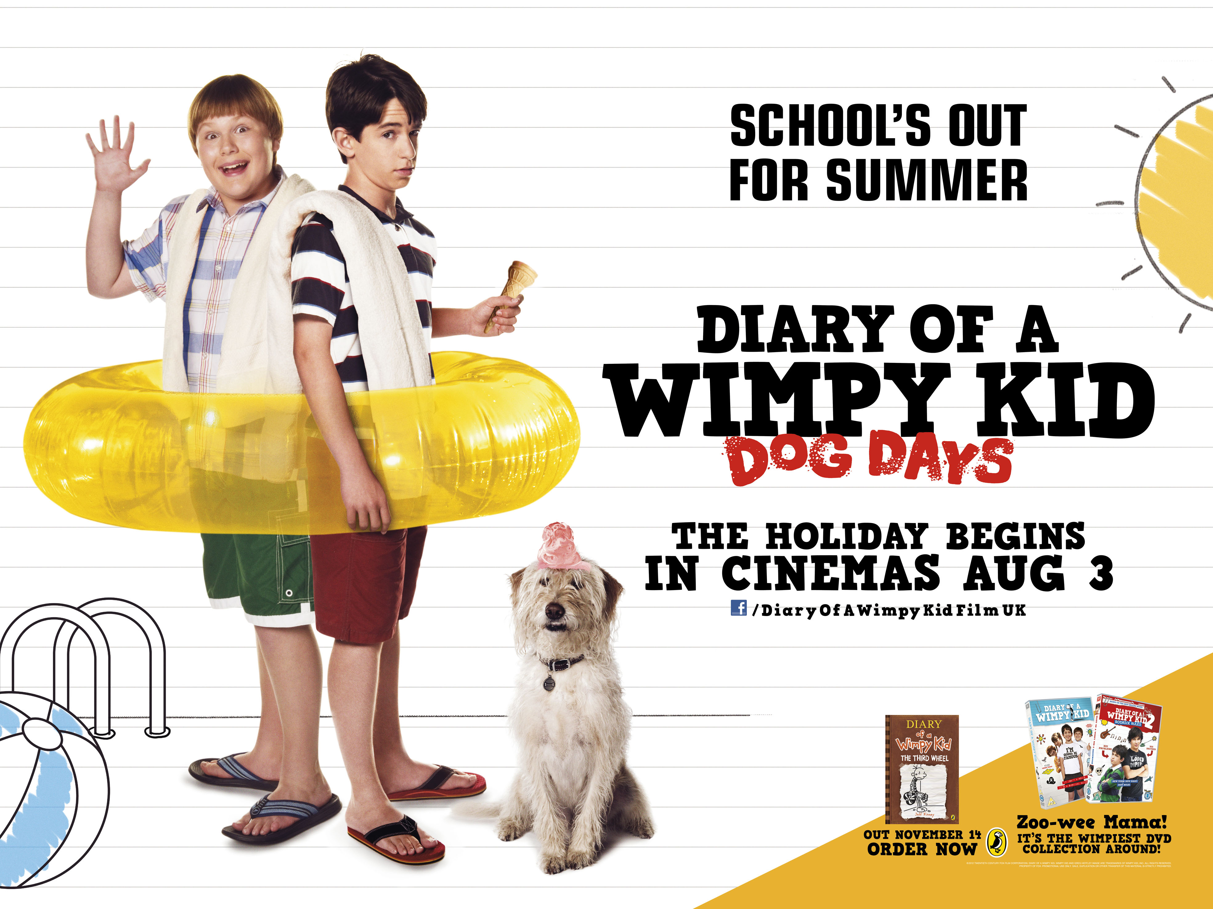 Diary Of A Wimpy Kid Camping Out