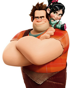 Disney S Wreck It Ralph Dad At Exclusive Footage Preview