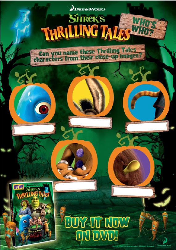 halloween fun for kidz with new adventure  u2018shrek u2019s