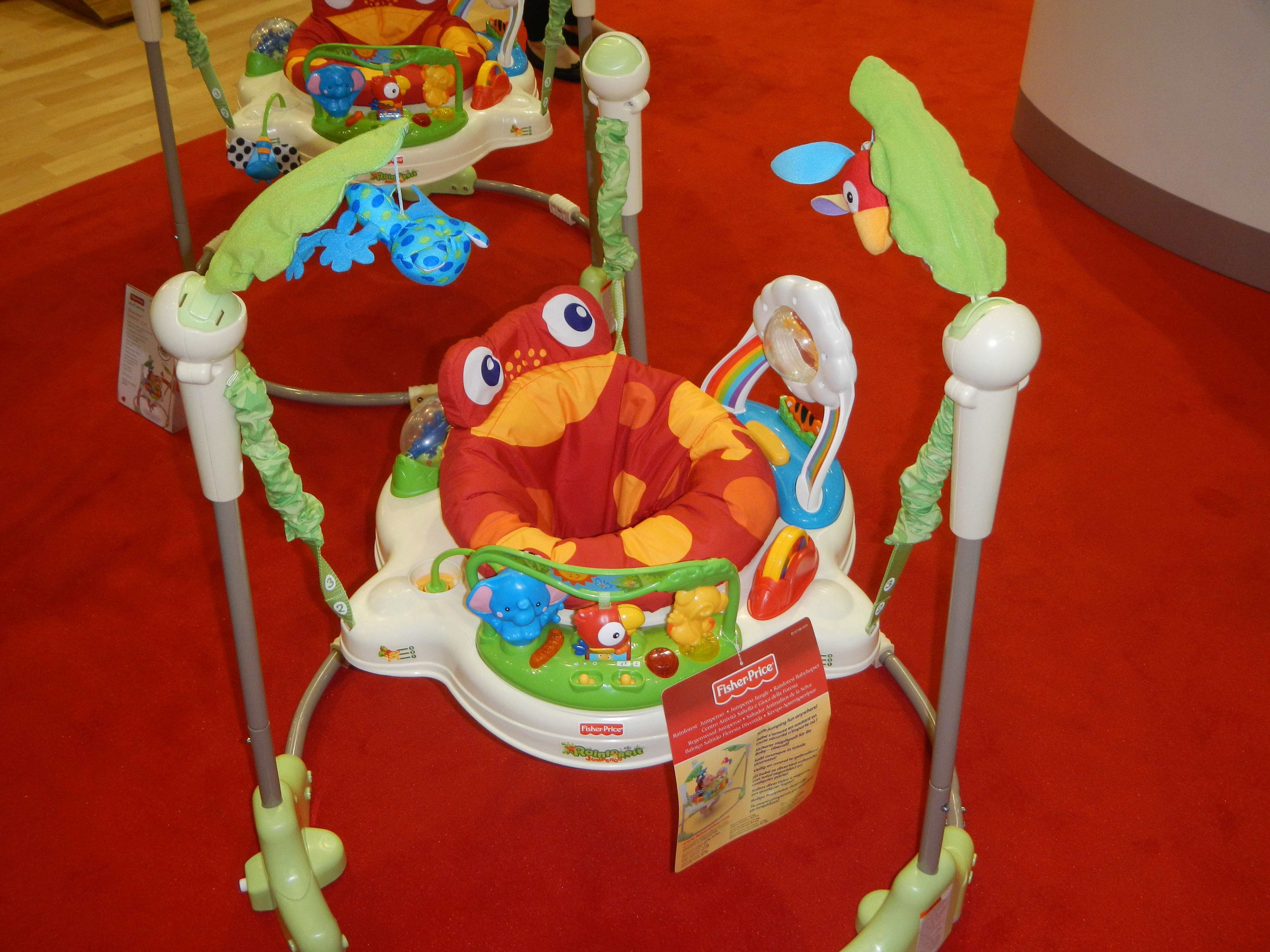 Babyzcoolit Mattel Fisher Price At The Baby Show 2012