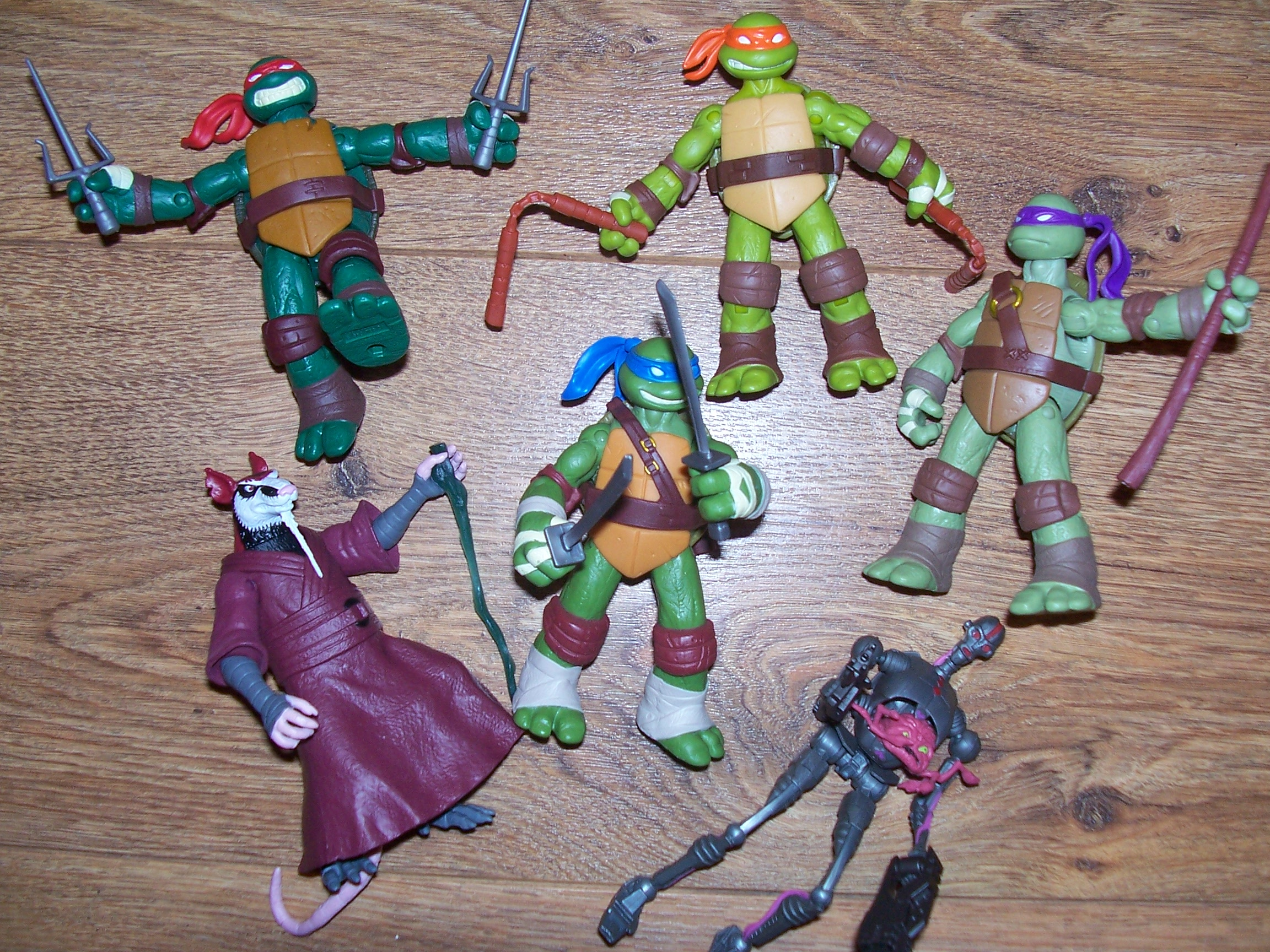 Teenage Mutant Ninja Turtles Toys : Nickelodeons teenage mutant ninja turtles action