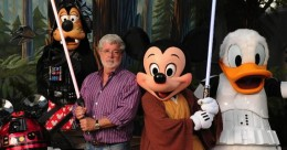 george lucas and disney characters