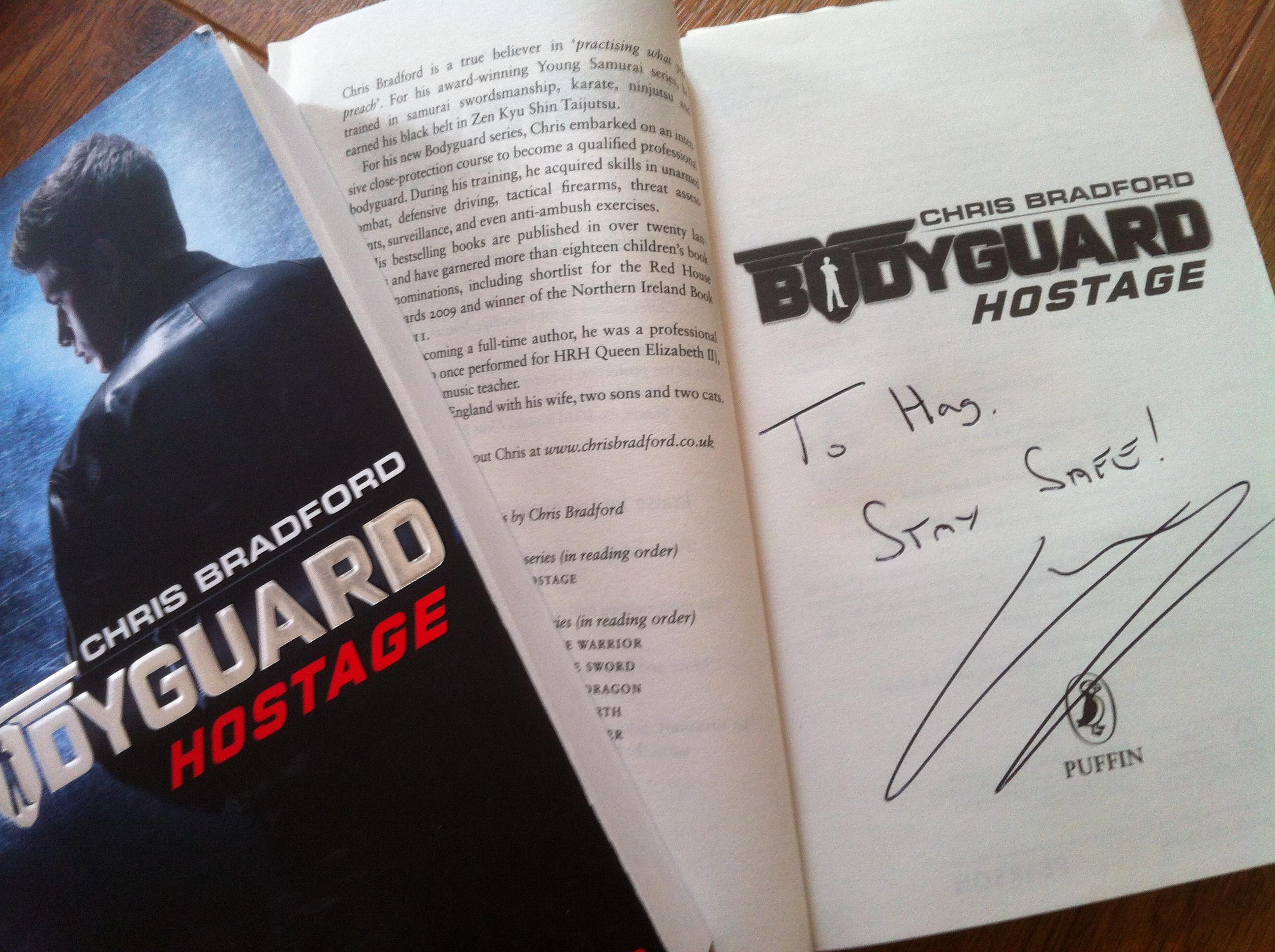 wird bodyguard von chris bradford verfilmt