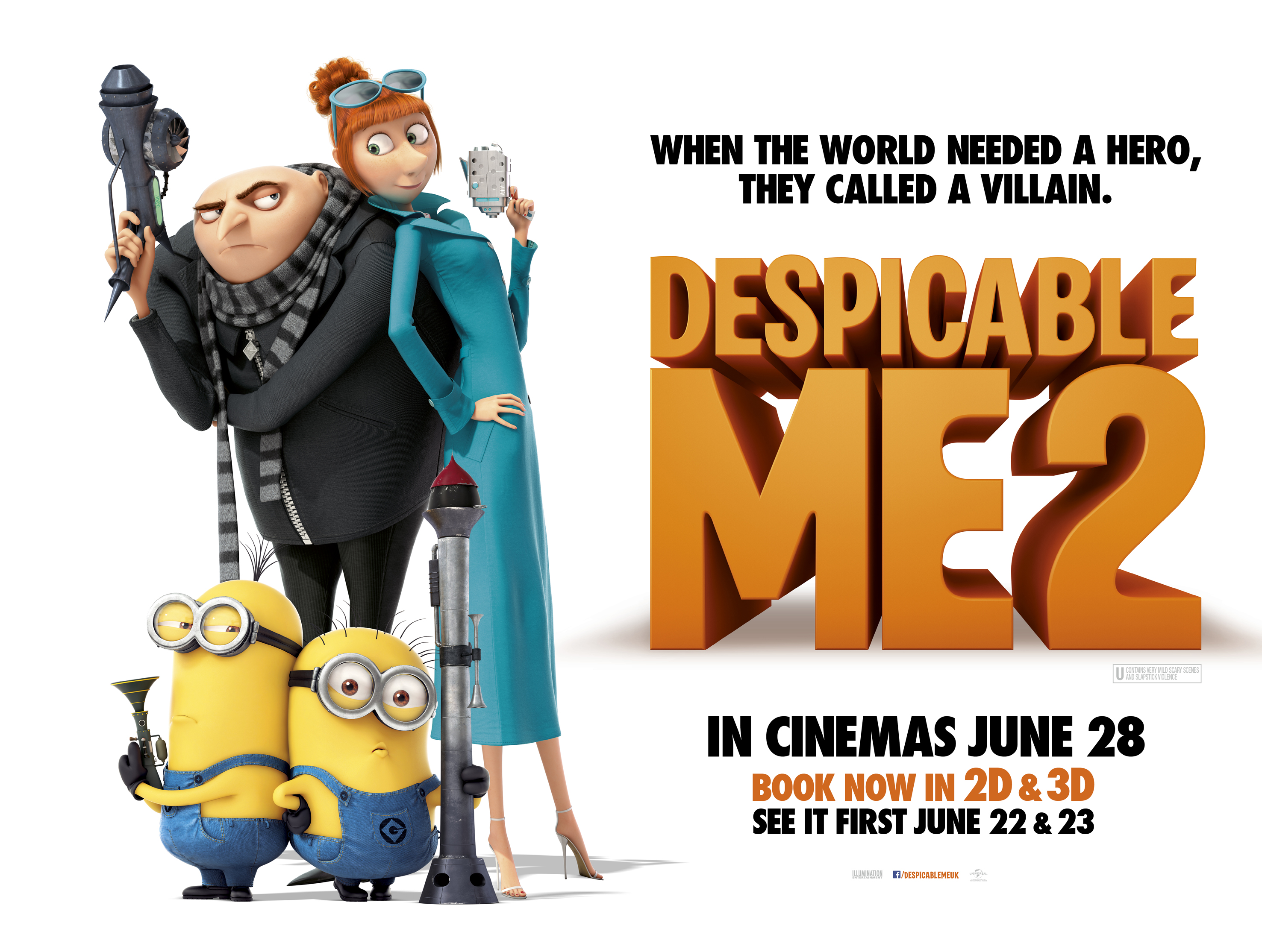 WIN Despicable Me 2 Merchandise!