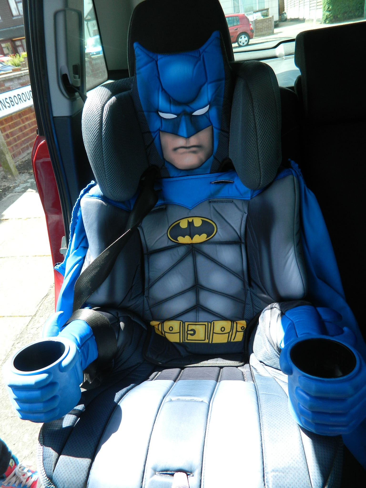 Batman Deluxe Car Seat