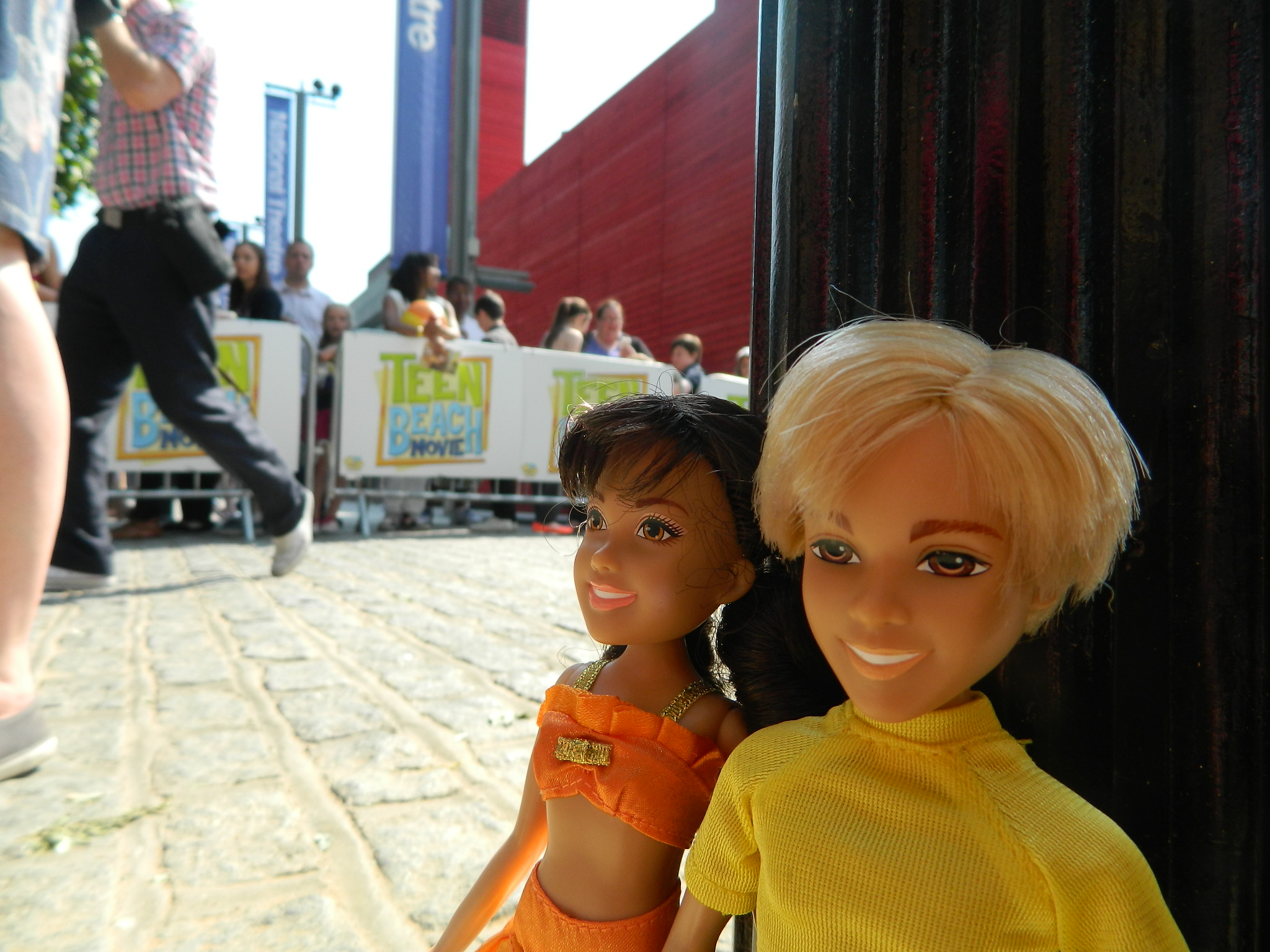 From Teen Beach Movie Toys : What the disney teen beach movie dolls did