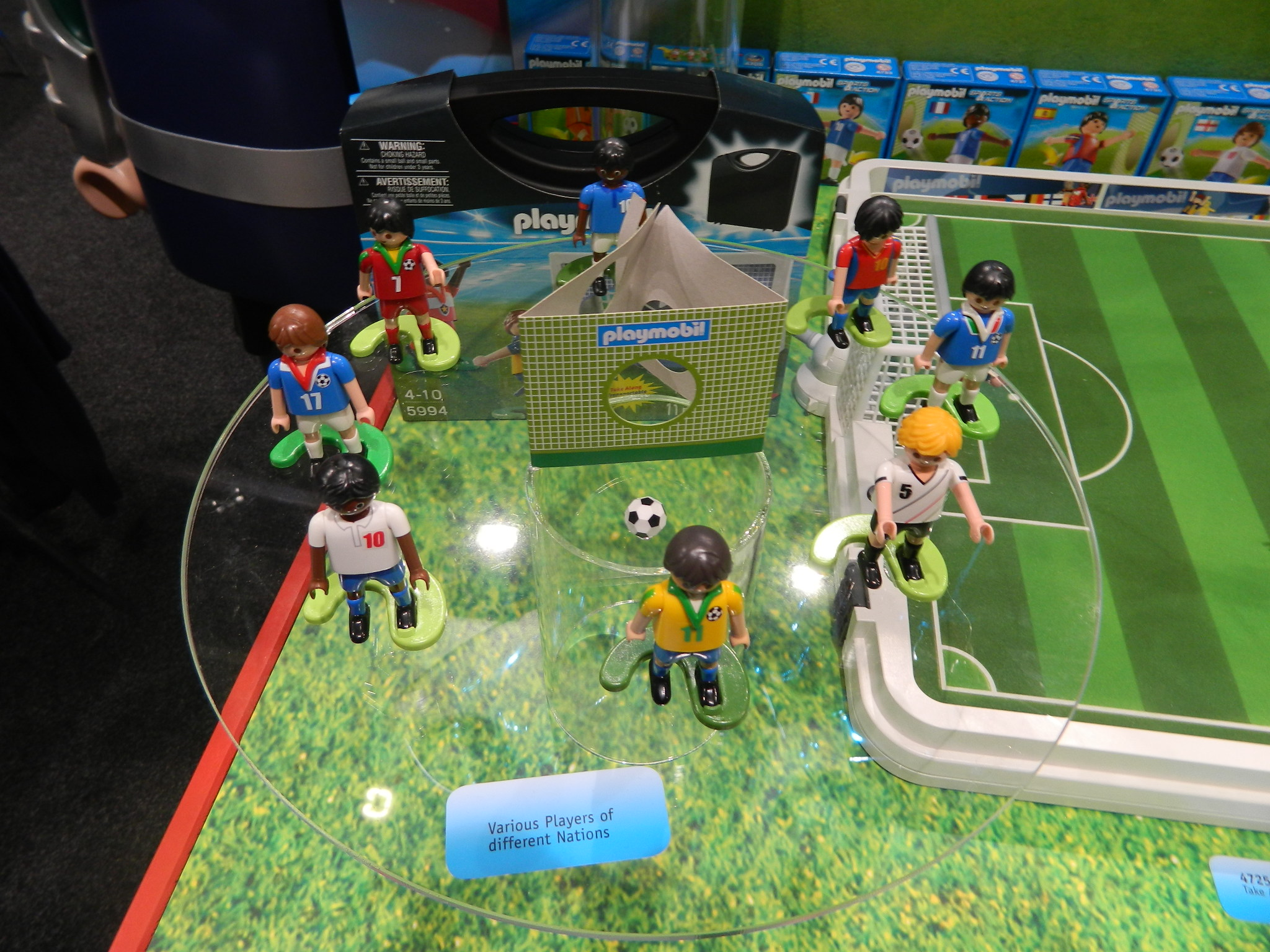 reviews playmobil take along soccer match