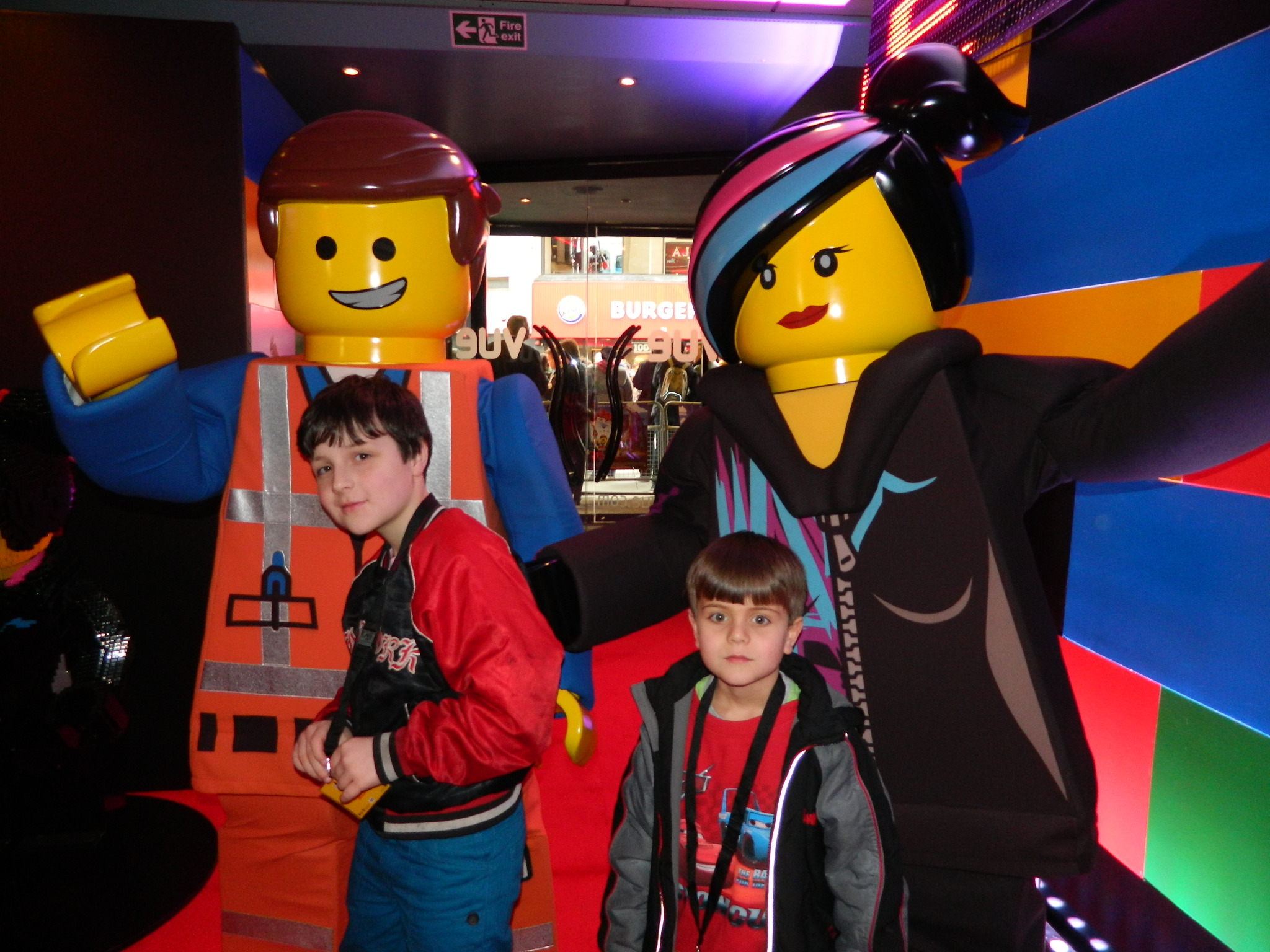 The Lego Movie Hag And Con At The Gala Screening
