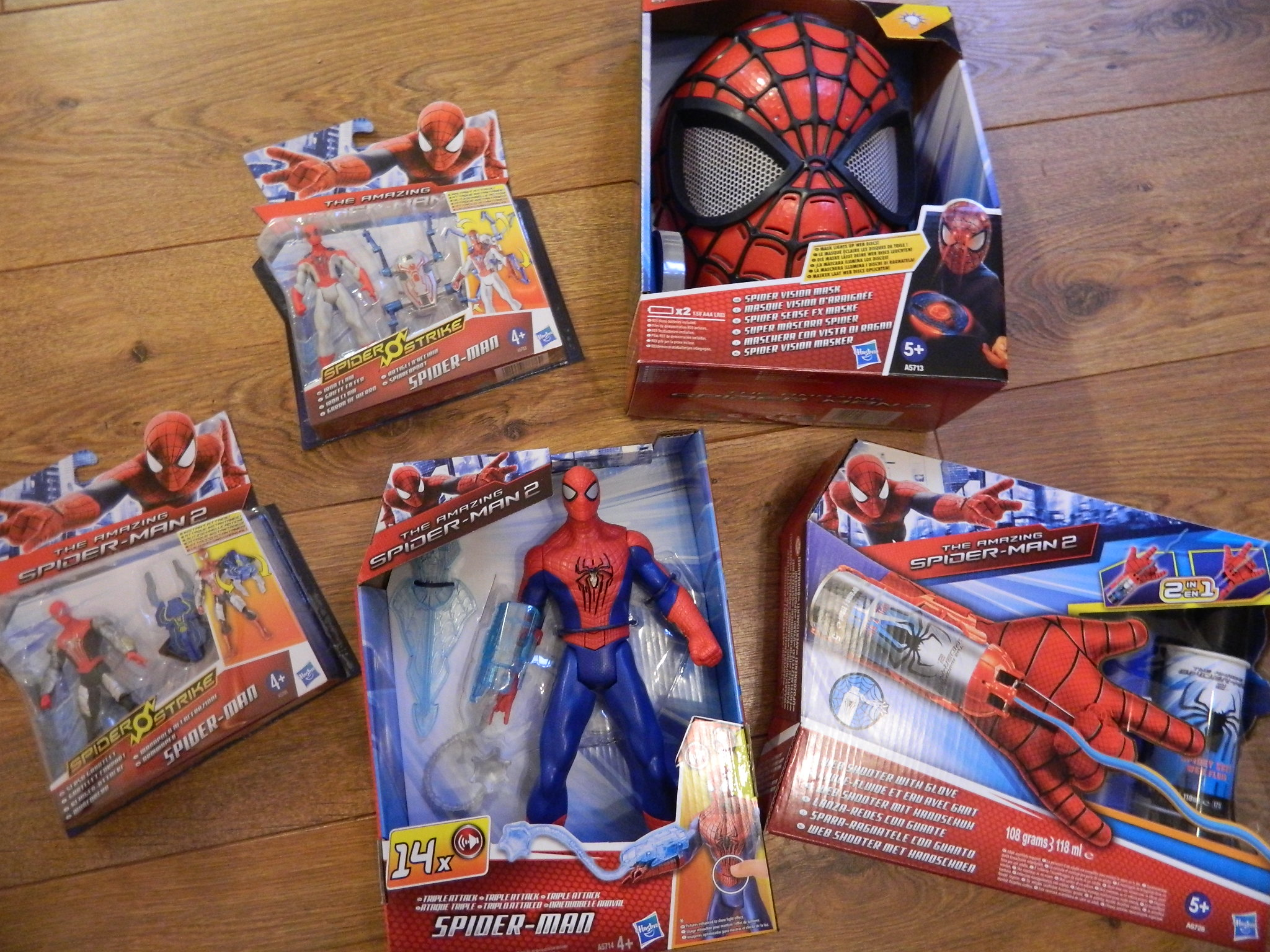 The Amazing Spider Man 2 Figures And Role Play Toys on transformers toy radio
