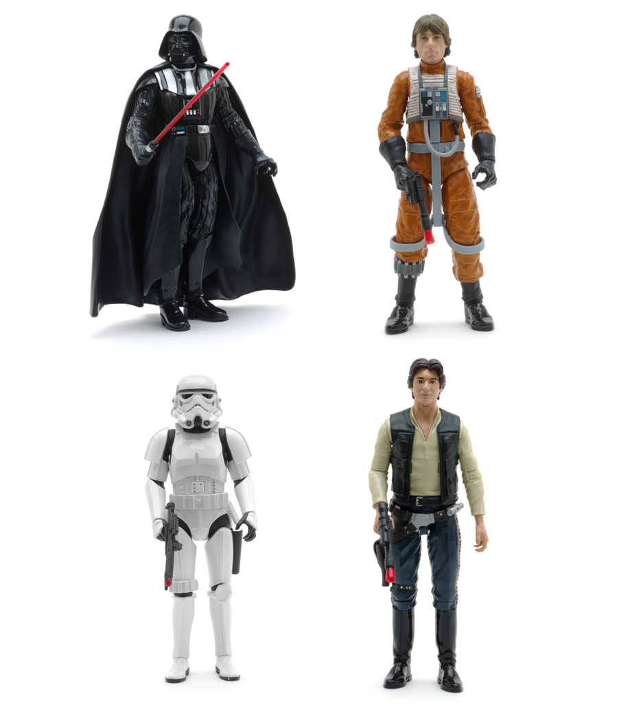 CELEBRATE STAR WARS AT THE DISNEY STORE