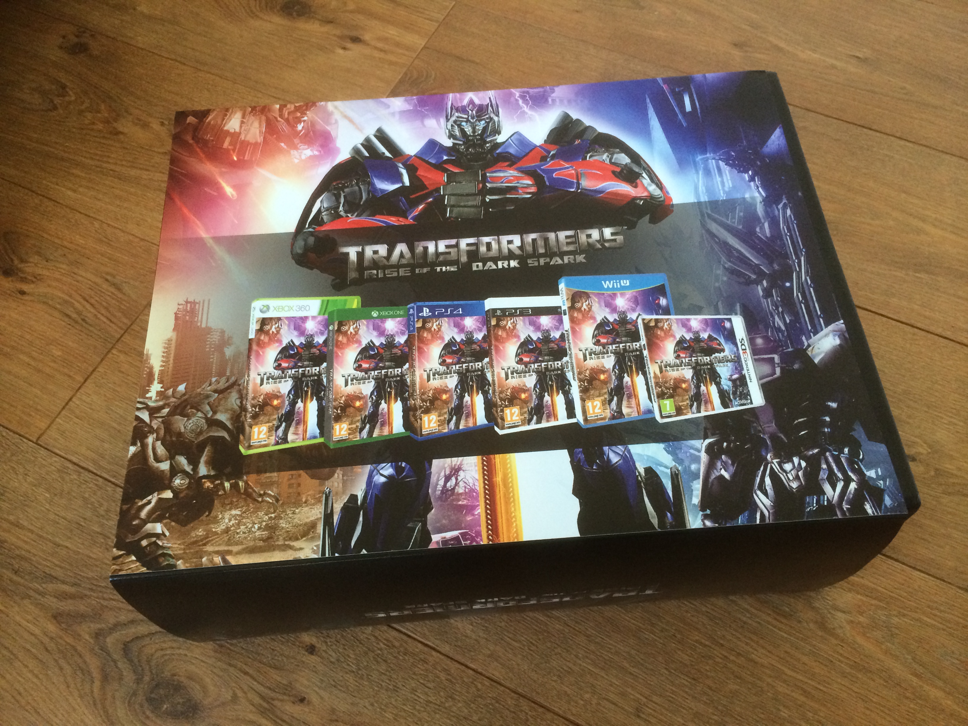 Transformers Rise Of The Dark Spark Video Game