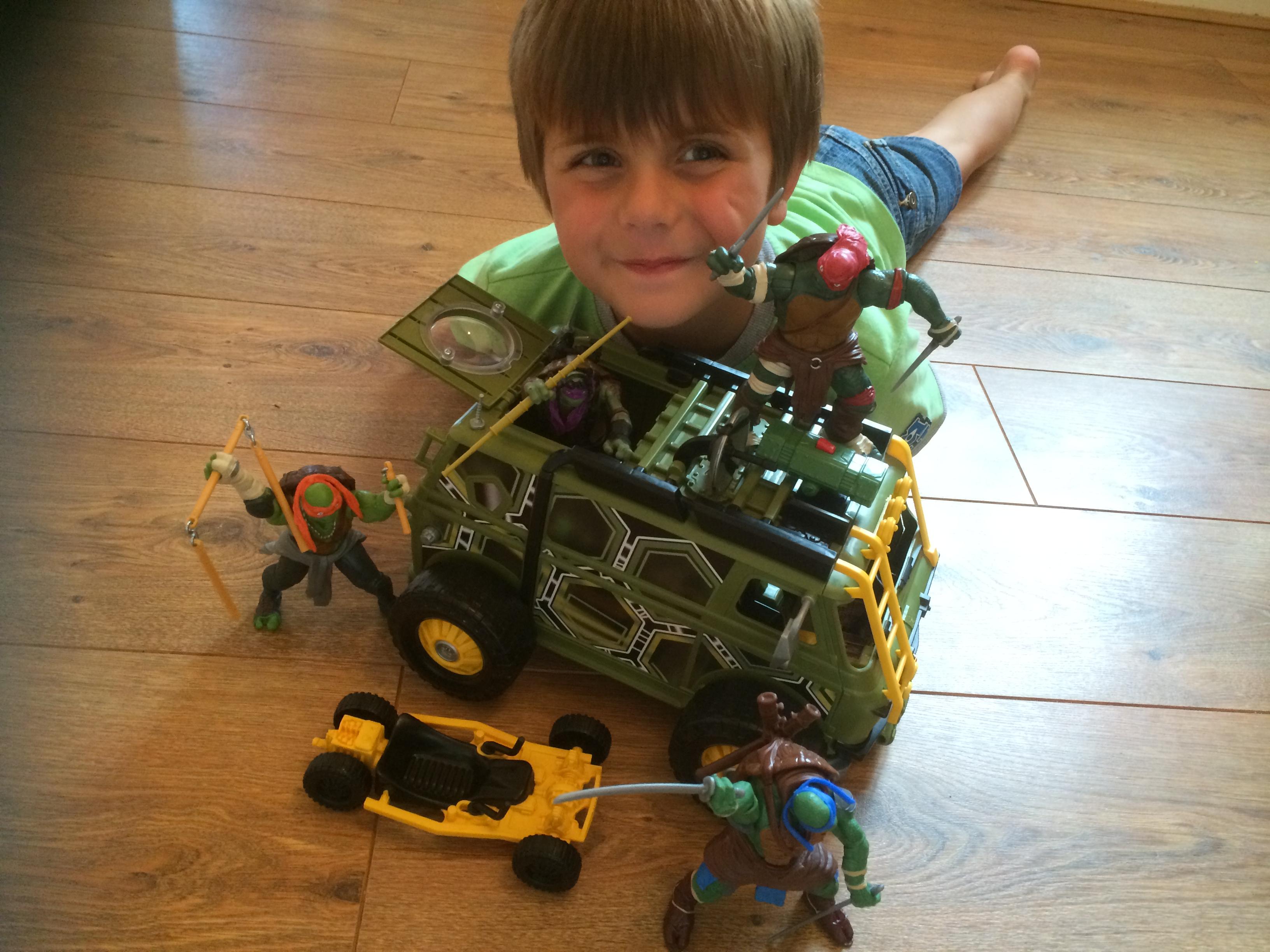 Ninja Turtle New Movie Toys : Ninja turtles the movie figures and vehicles