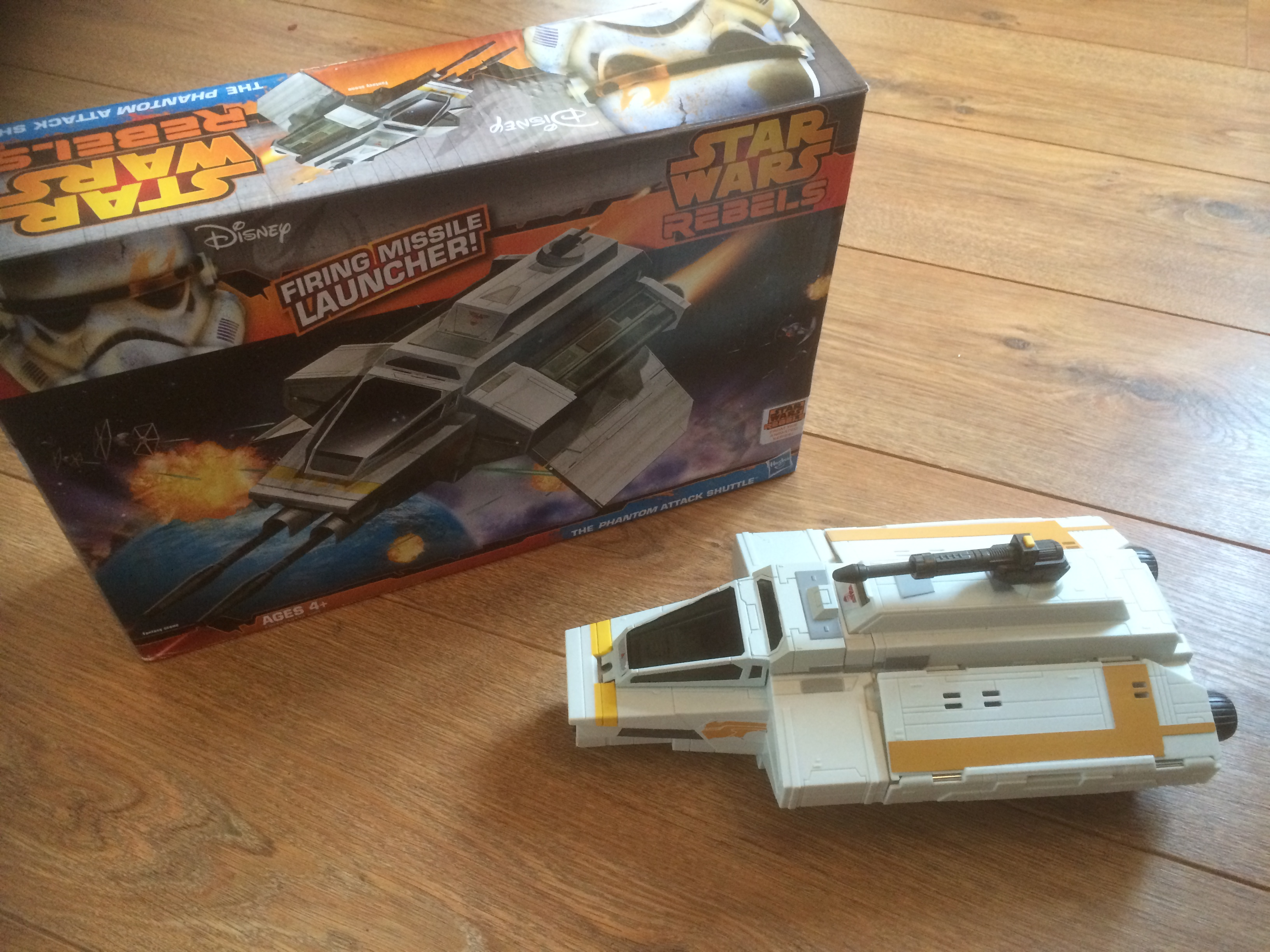 Star Wars Rebels The Phantom Attack Shuttle And Figures