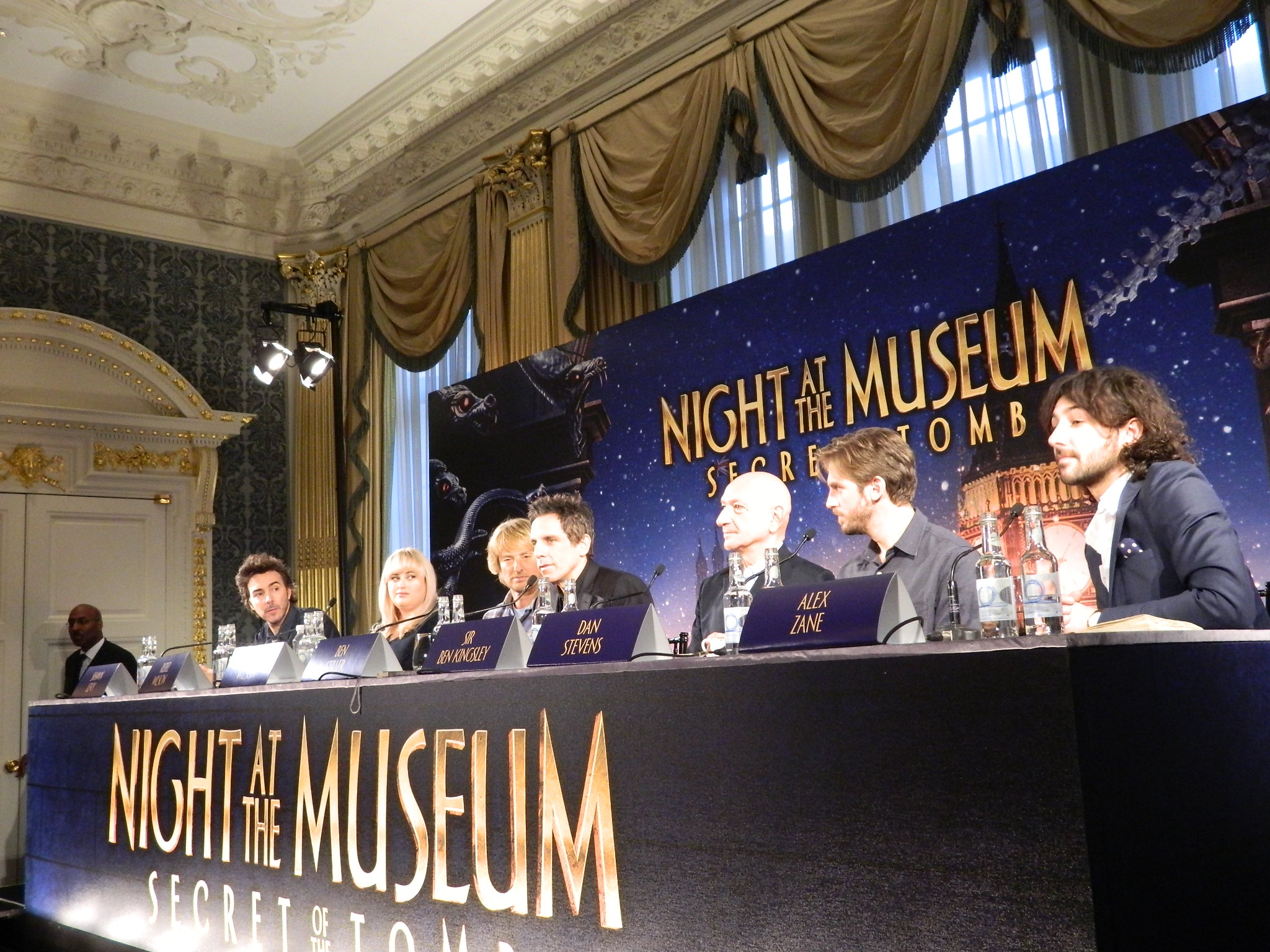 night at the museum: secret of the tomb uk press conference – con's