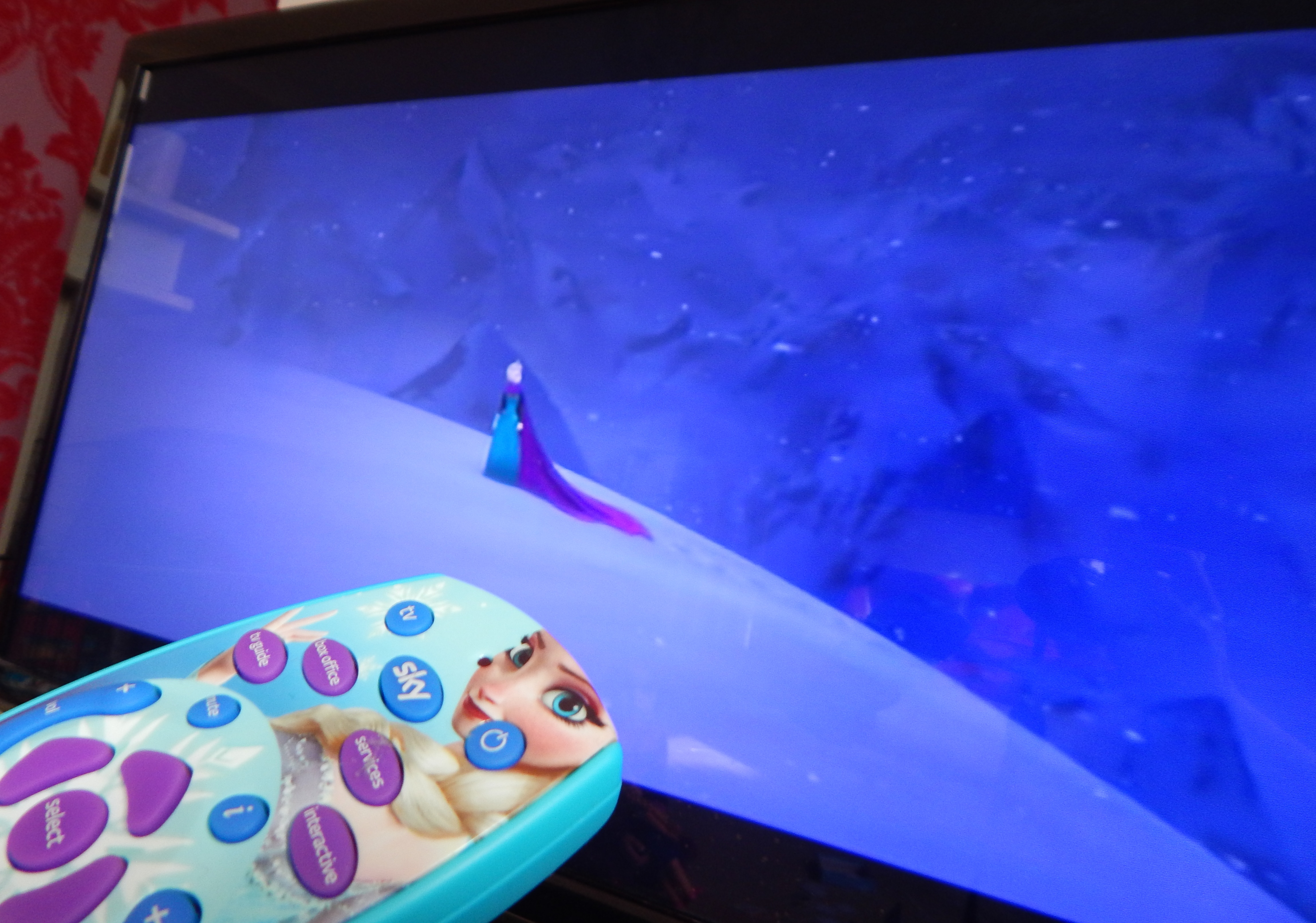 Sky Hd Disney Frozen Remote