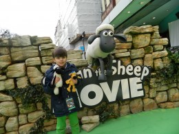 Shaun the sheep UK Premiere 2015 (1)