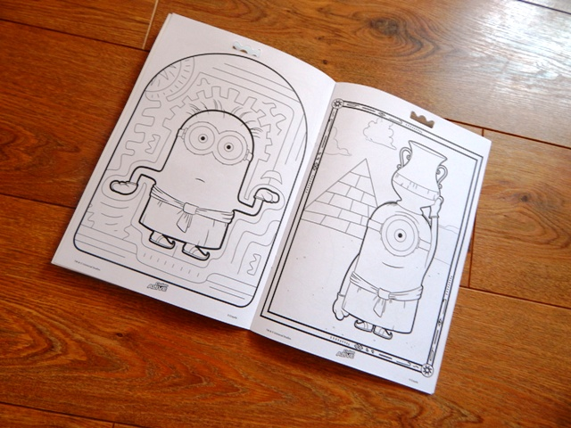 crayola colour alive minions review by bex and con 3d - Color Alive Coloring Pages Minions