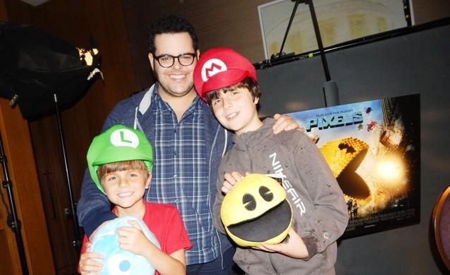 Pixels Josh Gad interview (1)