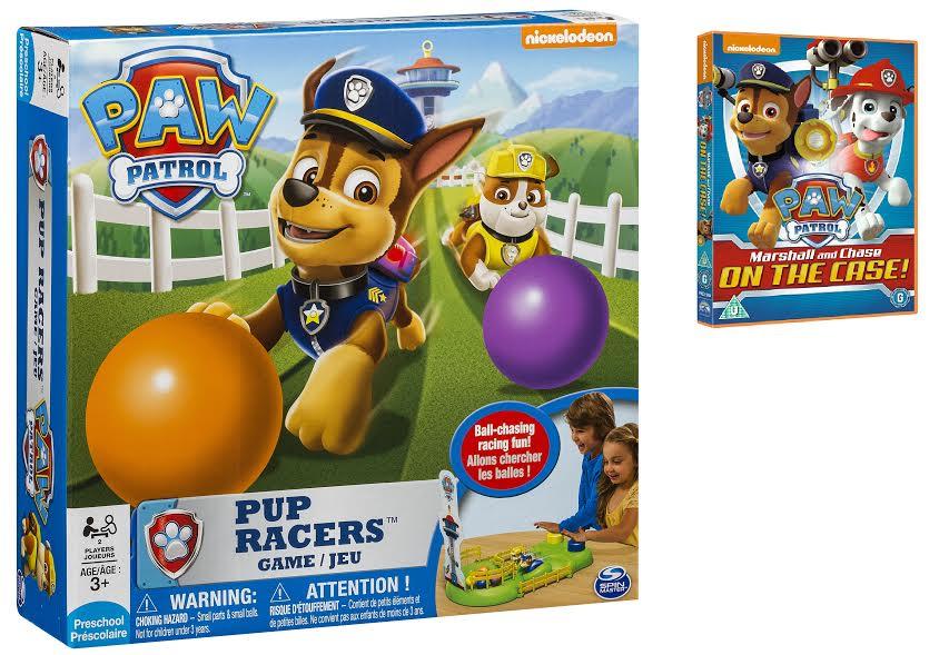 PAW PATROL Pup Racers Game