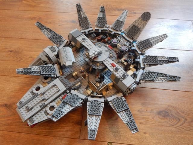 The Force Awakens Millenium Falcon Disney Final Pictures to pin on ...