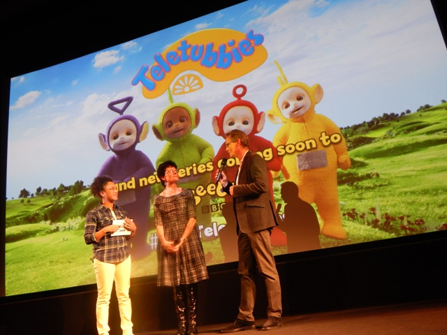 Cbeebies New Teletubbies Hag Con And Bex At The World