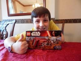 sTAR WARS tHE FORCE AWAKENS LEGO Reys Speeder reviews (1)