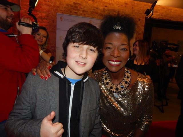 BRITISH ACADEMY CHILDREN'S AWARDS 2015 Hag meets the stars ...