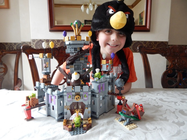 Lego The Angry Birds Movie King Pigs Castle