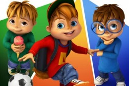 Alvinnn and the chipmunks DVD (1)