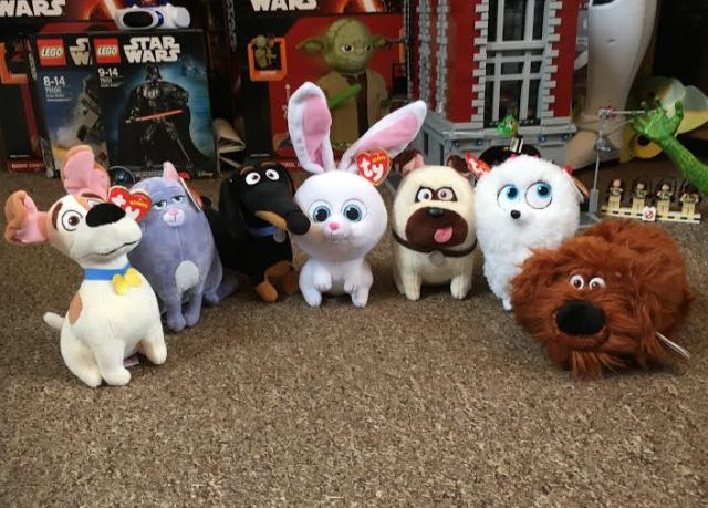 TY Beanies The Secret Life of Pets Plush Toys e998c7adab2