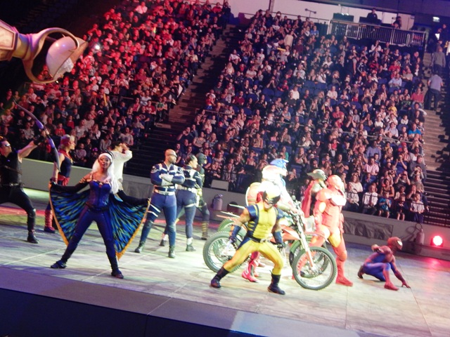 Marvel Universe Live Our Day With The Super Heroes