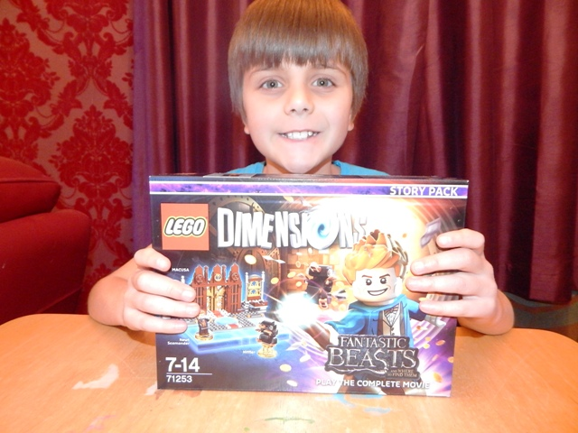 lego dimensions fantastic beasts how to start