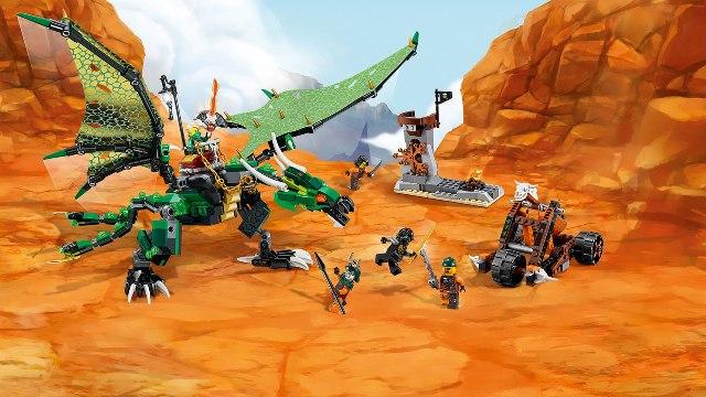 lego ninjago � the green nrg dragon