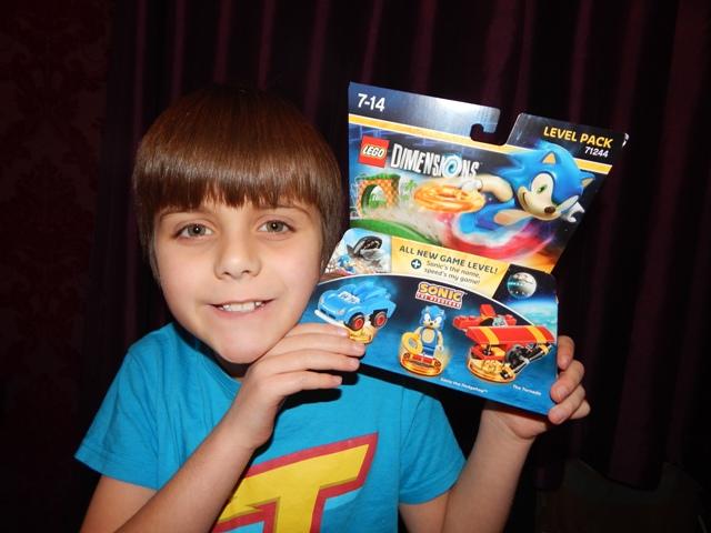 Lego Dimension Sonic The Hedgehog Level Packs