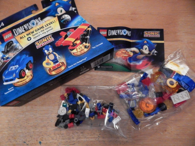 lego dimension sonic the hedgehog level packs