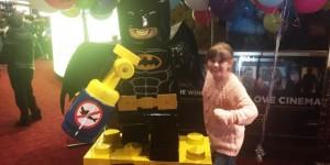 The LEGO Batman...