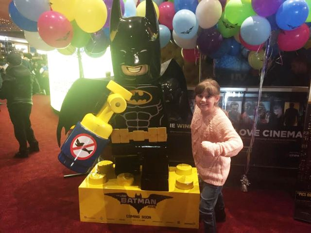 The LEGO Batman Movie – Sophie at the UK Gala Premiere IMAX ...