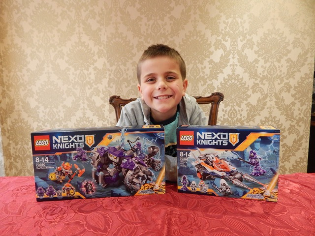 LEGO NEXO Knights – Lance's Twin Jouster & The Three Brothers