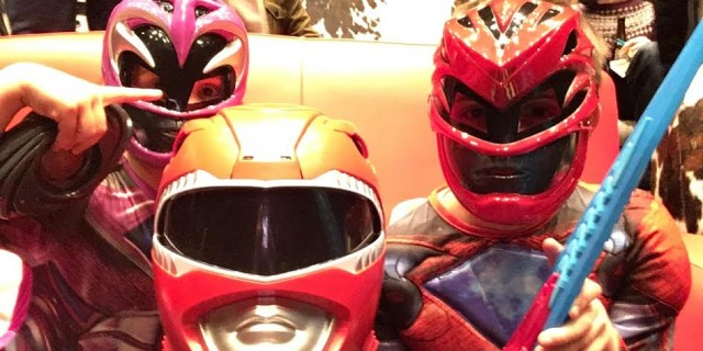 Power Rangers review...