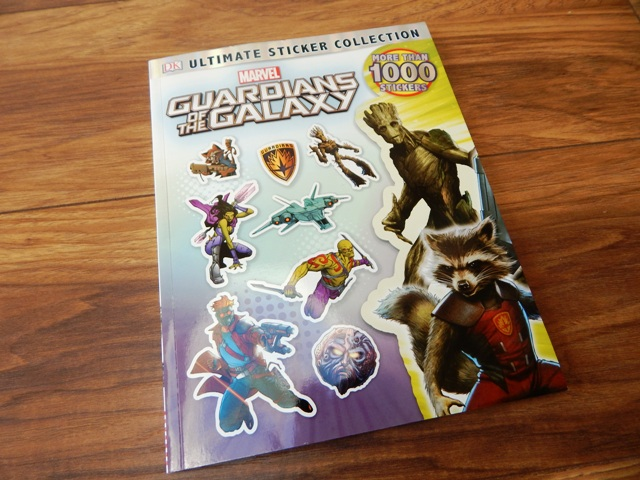 dk books guardians of the galaxy ultimate sticker collection. Black Bedroom Furniture Sets. Home Design Ideas